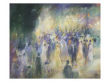 Popular Ball Giclee Print by Lucien Frank