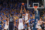 Memphis Grizzlies v Oklahoma City Thunder - Game Seven, Oklahoma City, OK - MAY 15: Shane Battier,  Photographic Print by Joe Murphy