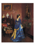 Five Minutes Late Giclee Print by Auguste Toulmouche