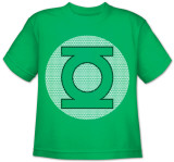 Toddler: DC Comics - GL Little Logos T-Shirt
