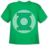 Toddler: DC Comics - GL Little Logos T-Shirt