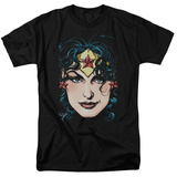 Justic League America - Wonder Woman Head T-shirts