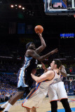 Memphis Grizzlies v Oklahoma City Thunder - Game Seven, Oklahoma City, OK - MAY 15 : Zach Randolph  Photographic Print by Layne Murdoch
