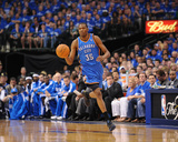 Oklahoma City Thunder v Dallas Mavericks - Game One, Dallas, TX - MAY 17: Kevin Durant Photographic Print by Noah Graham