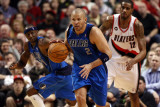 Dallas Mavericks v Portland Trail Blazers - Game Three, Portland, OR - APRIL 21: Jason Kidd Photographic Print by Jonathan Ferrey