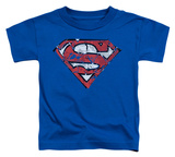 Toddler: Superman - Ripped and Shredded Shirt