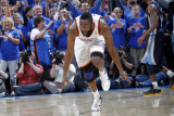 Memphis Grizzlies v Oklahoma City Thunder - Game Seven, Oklahoma City, OK - MAY 15 : James Harden Photographic Print by Layne Murdoch