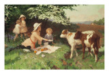 Uninvited Guests Giclee Print by Percy Tarrant