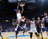 Memphis Grizzlies v Oklahoma City Thunder - Game Seven, Oklahoma City, OK - MAY 15 : Kevin Durant a Photographic Print by Layne Murdoch