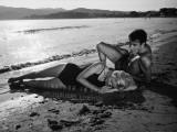 Marie Dubois et Franck Fernandel : L'Âge ingrat, 1964 Reproduction photographique par Marcel Dole