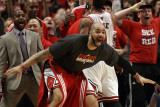 Miami Heat v Chicago Bulls - Game One, Chicago, IL - MAY 15: Carlos Boozer Photographic Print by Jonathan Daniel