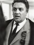 Federico Fellini Fotografisk trykk av Luc Fournol