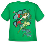 Toddler: DC Comics - Harley and Ivy Camisetas