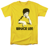Bruce Lee - Yellow Splatter Suit T-shirts