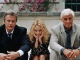 Jean-Paul Belmondo, Alain Delon, Vanessa Paradis: Une chance sur deux, 1998 Fotografisk tryk af Patrick Camboulive