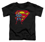 Toddler: Superman - Superman & Logo Shirt