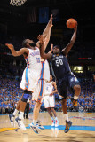 Memphis Grizzlies v Oklahoma City Thunder - Game Seven, Oklahoma City, OK - MAY 15: Zach Randolph a Photographic Print by Joe Murphy