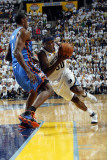 Oklahoma City Thunder v Memphis Grizzlies - Game Six, Memphis, TN - MAY 13: Zach Randolph and Serge Photographic Print by Layne Murdoch