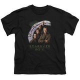 Youth: Stargate SG-1 - SG-1 Cast Stack T-shirts
