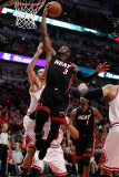 Miami Heat v Chicago Bulls - Game One, Chicago, IL - MAY 15: Dwyane Wade Photographic Print by Gregory Shamus