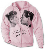 Hoodie: Lucy-Desi Kiss Me T-Shirt
