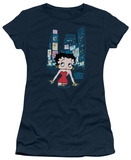 Juniors: Betty Boop - Boop Square T-Shirt