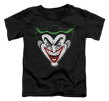 Toddler: Batman - Animated Joker Head Shirts