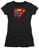 Juniors: Superman - Superman & Logo T-Shirt