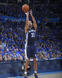 Memphis Grizzlies v Oklahoma City Thunder - Game One, Oklahoma City, OK - MAY 1: Shane Battier Photographic Print by Layne Murdoch