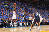 Memphis Grizzlies v Oklahoma City Thunder - Game Seven, Oklahoma City, OK - MAY 15: James Harden, O Photographic Print by Joe Murphy