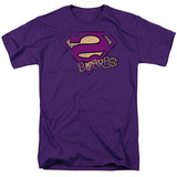Superman - Bizzaro Logo Distressed T-shirts