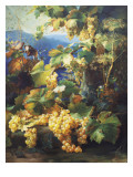 Still Life with Grape Giclee Print by Alexis Kreyder