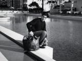 Alain Delon : Mélodie en sous-sol, 1963 Papier Photo par Marcel Dole