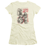 Juniors: Bettie Page - Beauty & The Beast T-Shirt