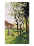 April in the Meadows Giclee Print by William Bartlett