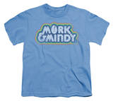 Youth:   Distressed Mork Logo T-shirts