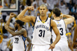 Oklahoma City Thunder v Memphis Grizzlies - Game Six, Memphis, TN - MAY 13: Shane Battier Photographic Print by Kevin Cox