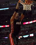 Miami Heat v Chicago Bulls - Game One, Chicago, IL - MAY 15: Chris Bosh Photographic Print by Jonathan Daniel