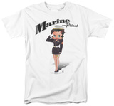 Betty Boop - Marine Boop T-shirts