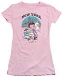 Juniors: Betty Boop - Singing in New York T-shirts