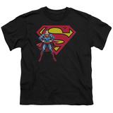 Youth: Superman - Superman & Logo T-Shirt