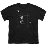 Youth: Elvis - Blue Bars Shirt
