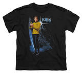 Youth: Star Trek - Galactic Kirk T-shirts