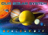 Le système solaire Photographie