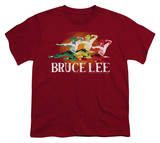 Youth: Bruce Lee - Tri-Color T-shirts