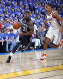 Memphis Grizzlies v Oklahoma City Thunder - Game Seven, Oklahoma City, OK - MAY 15 : O.J. Mayo and  Photographic Print by Layne Murdoch