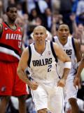 Portland Trail Blazers v Dallas Mavericks - Game One, Dallas, TX - APRIL 16: Jason Kidd Photographic Print by Ronald Martinez