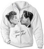 Hoodie: Lucy-Desi Kiss Me T-shirts