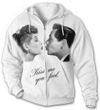 Hoodie: Lucy-Desi Kiss Me T-shirts