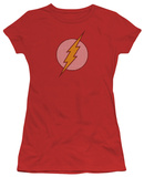 Juniors: DC Comics - Flash Little Logos T-Shirt